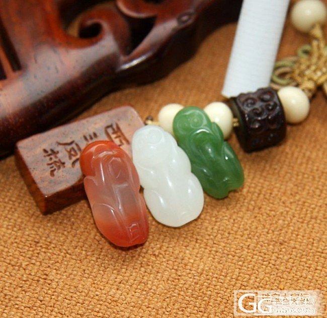 【0505和田玉】6.44克  红白..._传统玉石