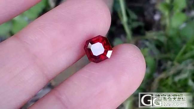 【红宝石】2.04克拉无烧鸽血红,我个人好喜欢的一颗_上海皇家蓝彩宝