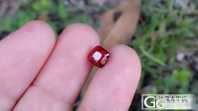 【红宝石】超级美的火彩,1.53克拉无烧鸽血红,干净透亮玻璃体_上海皇家蓝彩宝