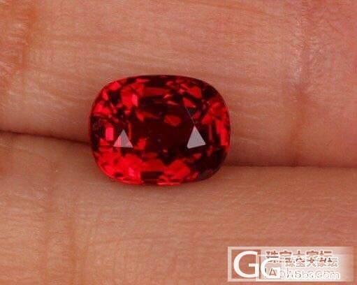 请各位大神帮忙看下这颗红宝_红宝石刻面宝石
