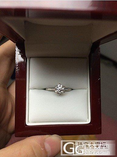 又是我 我的钻戒到了感觉自己棒棒哒_钻石