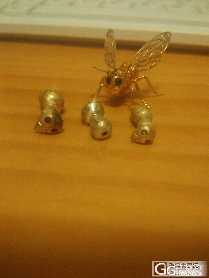 金黄蜂和它的伙伴们——纯手工制作_金