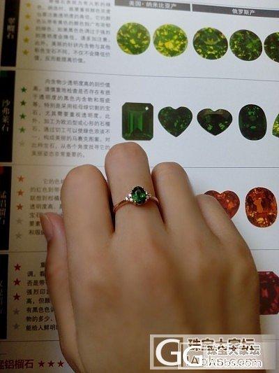 新人入手一颗沙弗莱戒指 不知道这颜色..._沙弗莱刻面宝石