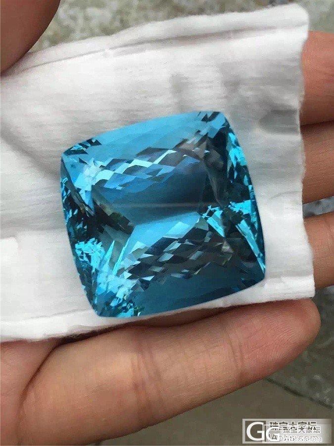 看好海蓝宝的收藏价值,终于入了圣玛利..._珠宝