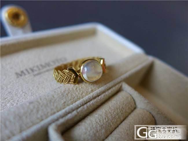 三千世界---寻找月光石最美的样子 金花丝 月光石戒_三千世界