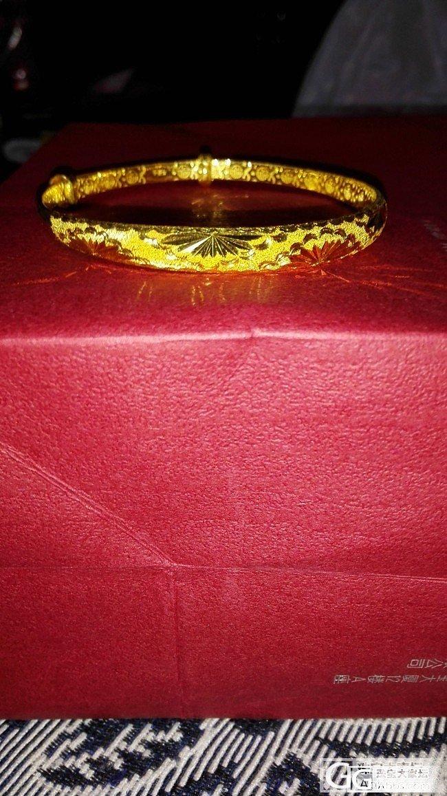 为结婚准备的~~补上昨天的手镯图~嚯..._手镯项链耳钉戒指金