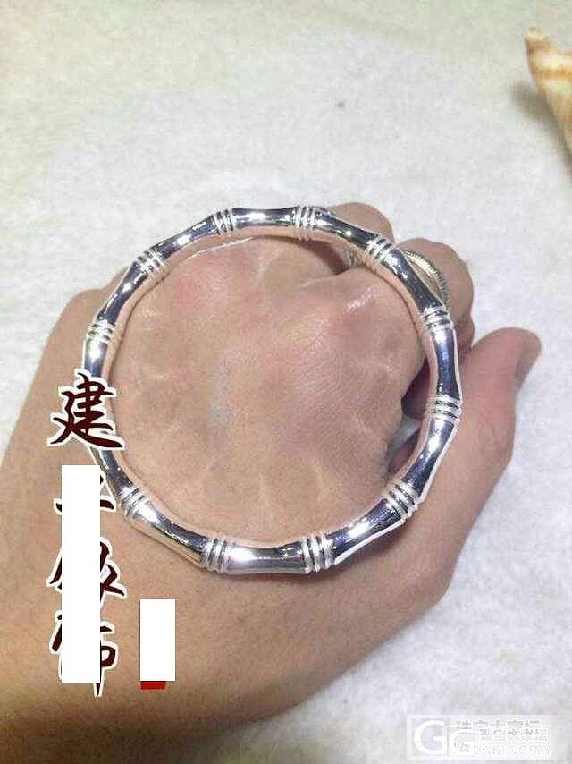 梦中的竹节镯_手镯银