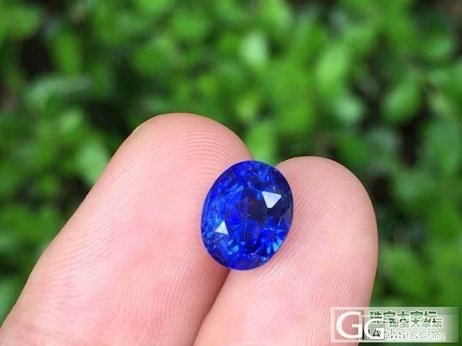 性价比之王闪亮登场!3ct无烧皇家蓝,拥有迷人的颜色,耀眼的火彩_上海皇家蓝彩宝