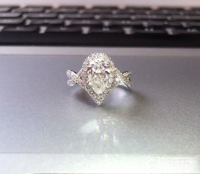 刚做好的60分钻戒,你那么美,大家造..._钻石