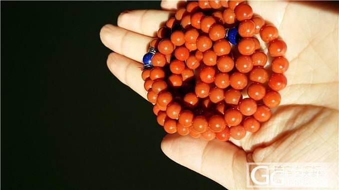 南红九口满色满肉柿子红.收藏级7mm..._玛瑙