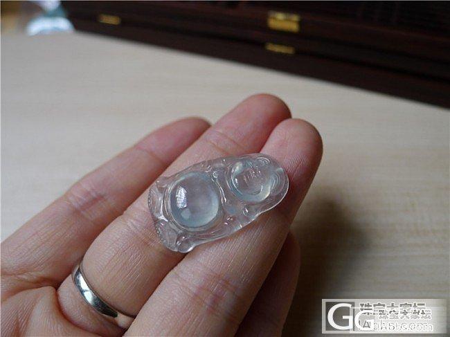 【小蛋蛋美玉】玻璃种站佛  售价2080 微信号:feicui40_小蛋蛋美玉店