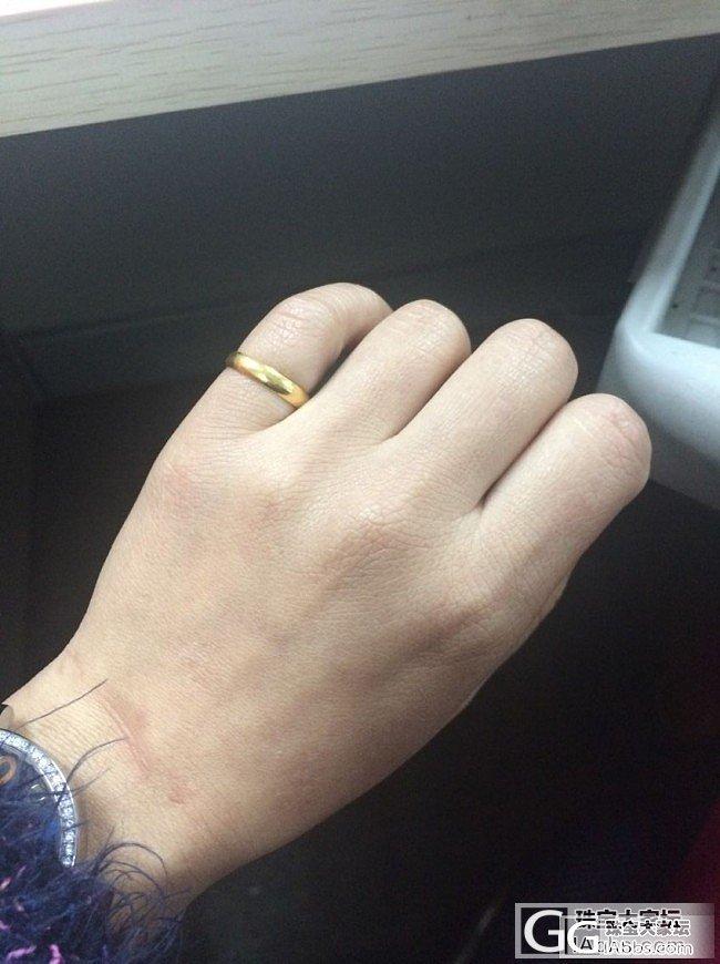 六福的小光圈戒指_戒指金