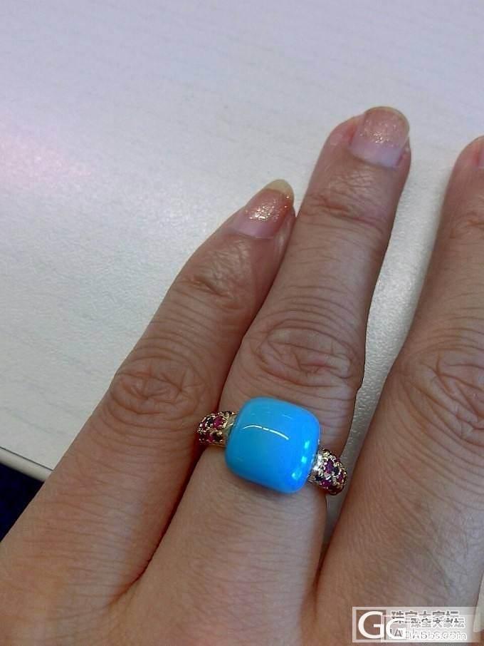 酱油回来的松石戒指,也是醉了_松石琳琅满目
