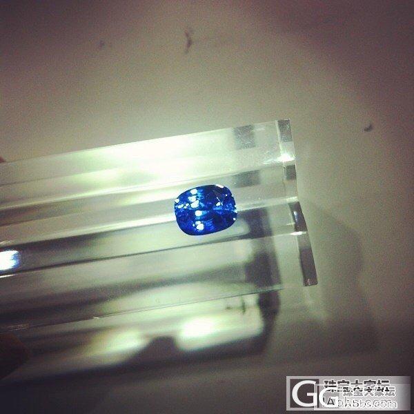 求估价 四克拉有烧蓝宝_刻面宝石蓝宝石