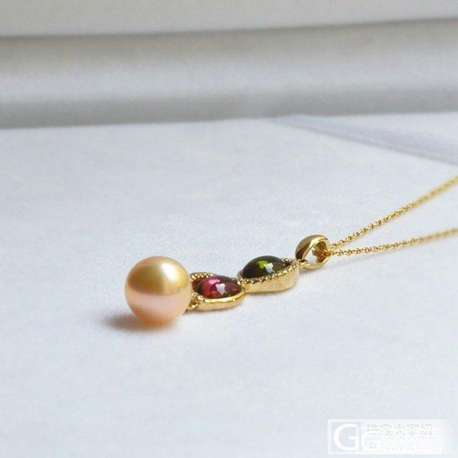 碧玺与珍珠的结合_吊坠碧玺珍珠