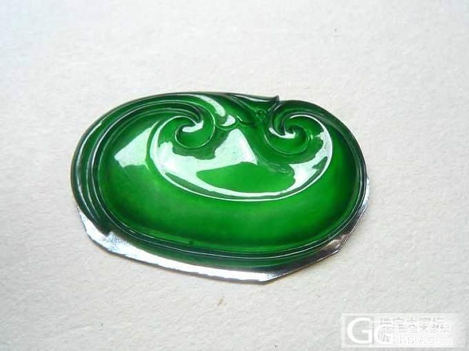 【韵玉阁】 阳绿如意 -满绿如意 阳绿金鱼 阳绿手镯-_翡翠