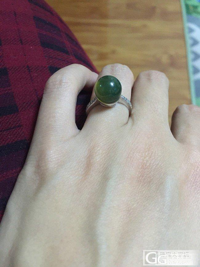 小300块的蓝珀戒指_琥珀