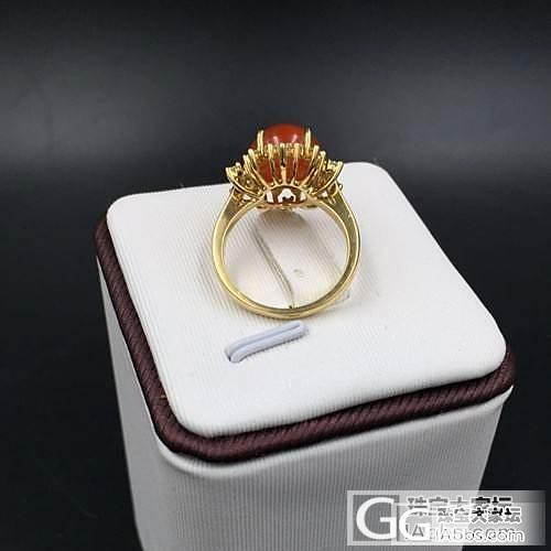 南红戒指     超美的    个性...