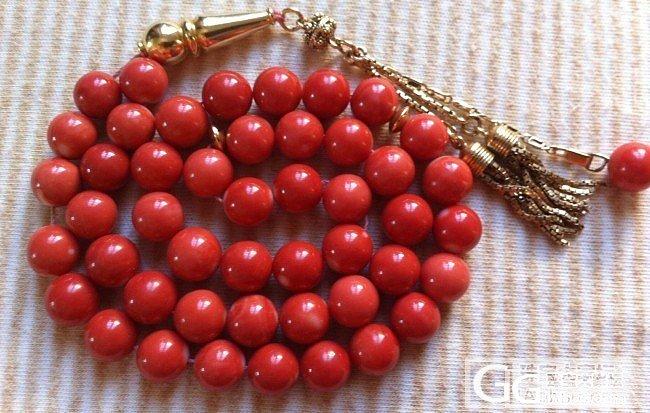 法国淘的九毫米Momo圆珠串,七八十..._有机宝石