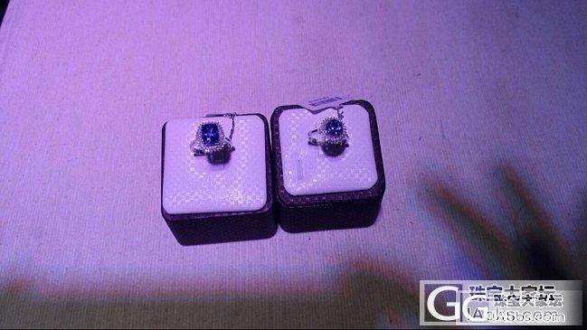 新手...求大神帮我看看这个坦桑石的戒指_坦桑石刻面宝石