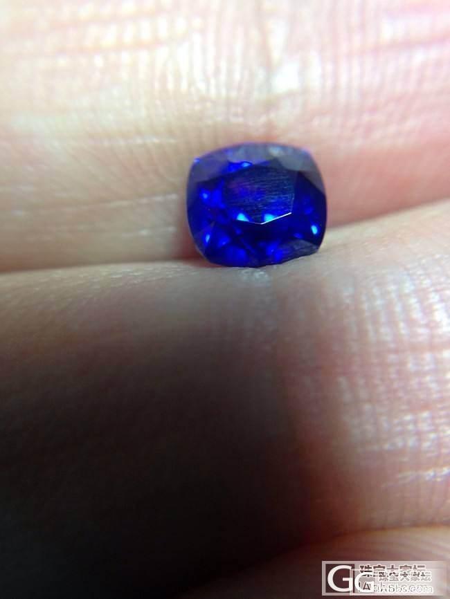 新入了一批1克拉左右的皇家蓝,都是兰..._蓝宝石