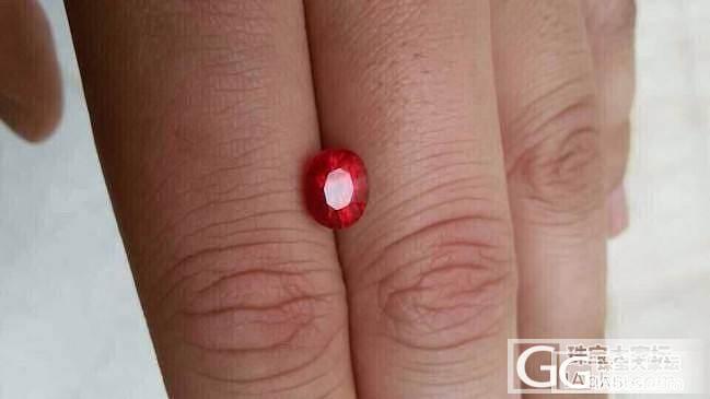 这一粒2.85的缅甸红宝让我一夜没有..._珠宝