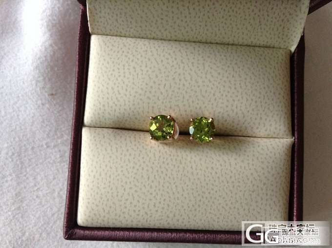 晒晒我的彩宝,多是戒指和耳饰_碧玺彩色宝石