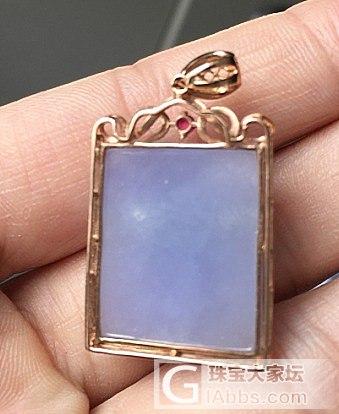 翡翠仓!紫罗兰、晴水、黄翡的戒指和吊坠。_翡翠