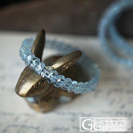 最近种草海蓝宝了,看了半天,想买这串海蓝宝手排,有图,给个建议可以入吗?_珠串海蓝宝