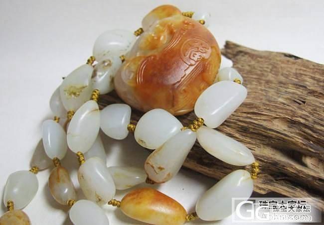 100克原籽项链!_传统玉石