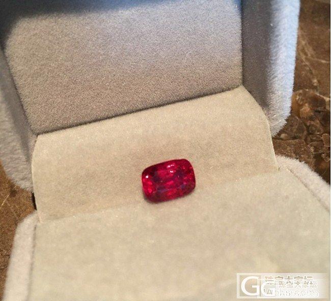 缅甸火焰红尖晶的表现 (补多图)_尖晶石刻面宝石