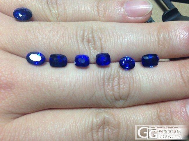 有一批斯里兰卡产的皇家蓝蓝宝石,1c..._宝石