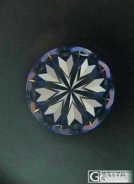 一颗Type IIa型D色IF钻石~..._钻石