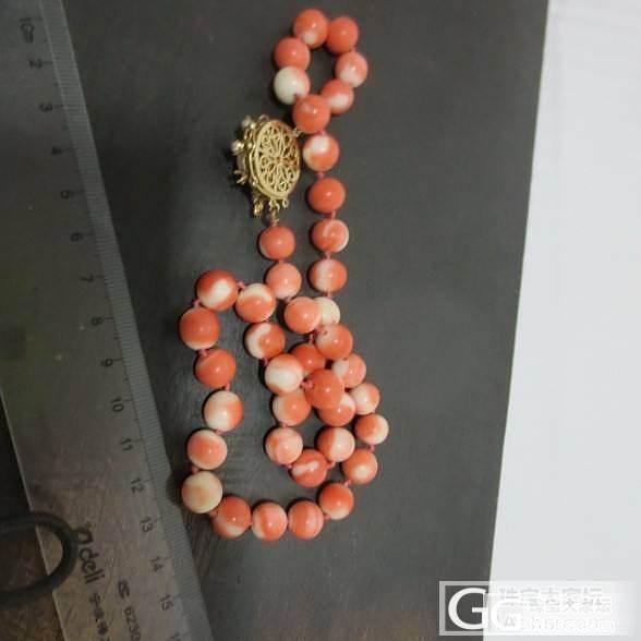 红珊瑚项链 61克_有机宝石