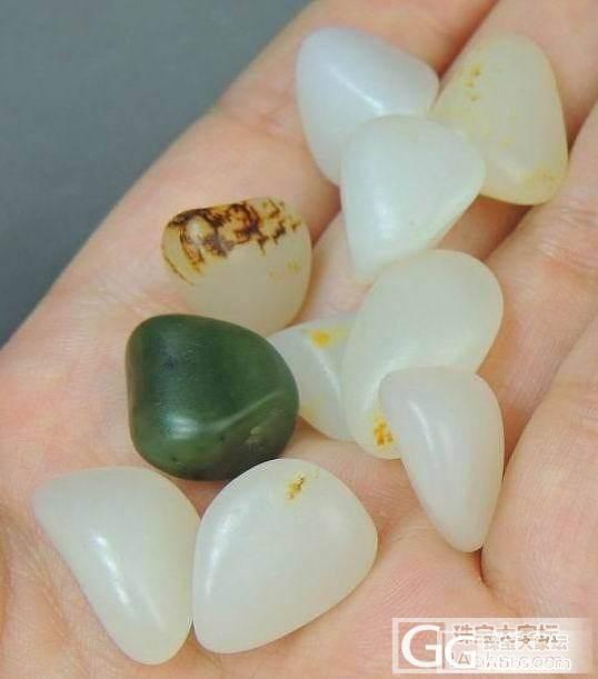 【新疆的猫】新宝贝7.1——精品羊脂原籽手链(一帖多物)_传统玉石