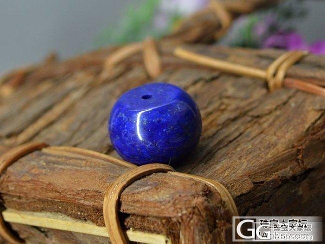 【大青金石苹果珠】少白洒金 小骆驼文玩_传统玉石