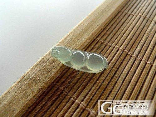 F礼玉锋翡翠F--8.6  四季豆+飘绿无事牌+金枝玉叶_翡翠
