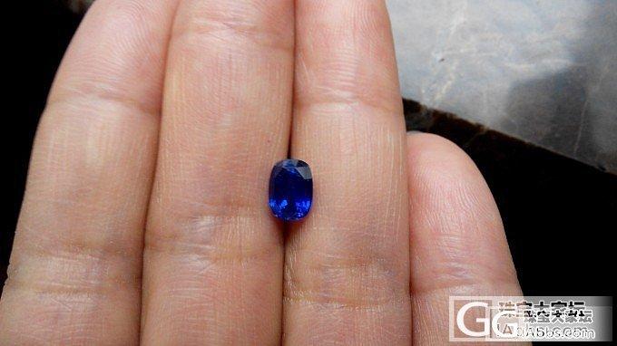 一颗小小无烧蓝宝,欢迎围观吐槽_刻面宝石蓝宝石