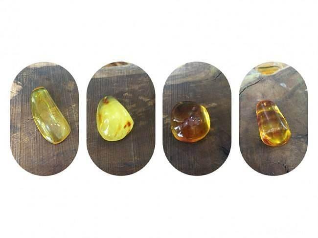 【穆希文玩】近期的蜜蜡和琥珀的新货,..._珠宝