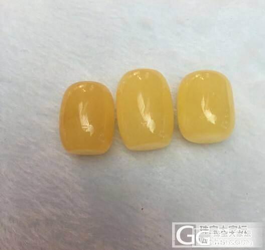 无优化,鸡油黄,桶珠_有机宝石
