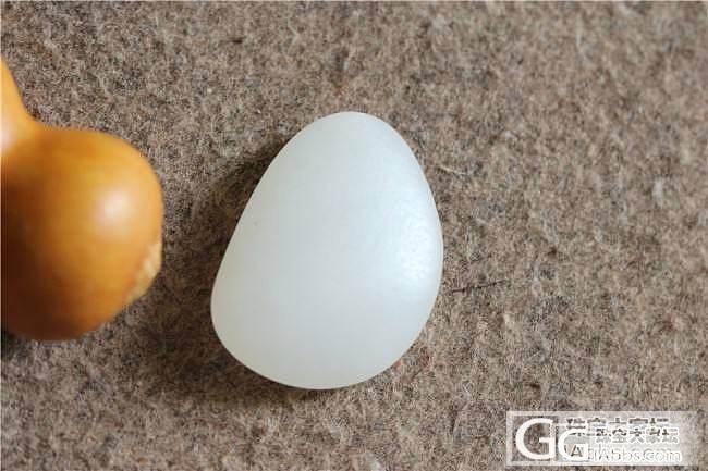 和田玉籽料7.3克脂白原石/原籽&籽料喜上眉梢(曹之璟)_传统玉石