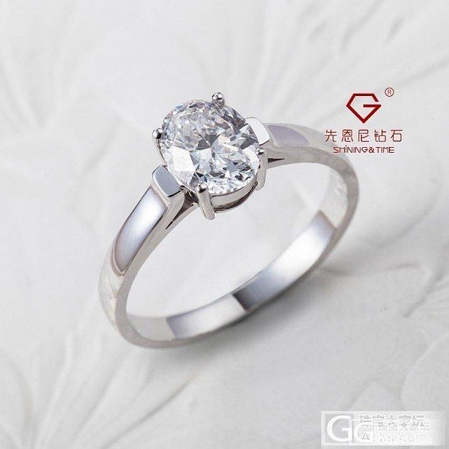 【先恩尼】1.04克拉 D色 VVS1 椭圆形GIA裸钻 特惠_钻石