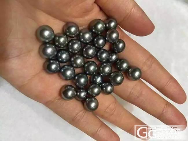 超白菜价的大溪地珍珠,秒杀价:600米一粒。套装来。_有机宝石