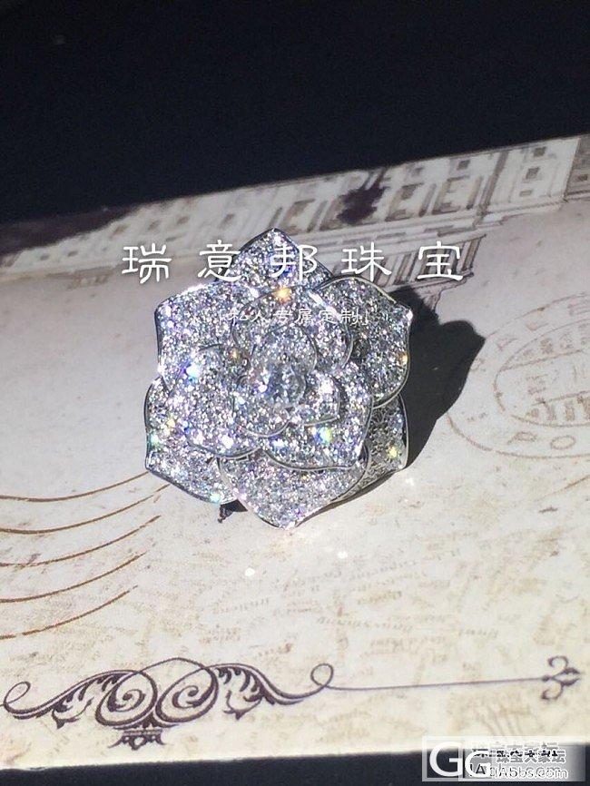 【瑞意邦珠宝】——奢华款满钻玫瑰花戒指出货欣赏_瑞意邦珠宝