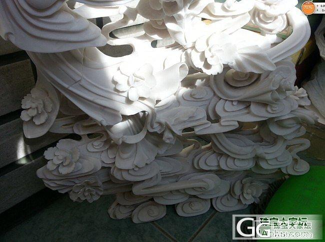 30元嫦娥奔月汉白玉中型雕件47*4..._传统玉石