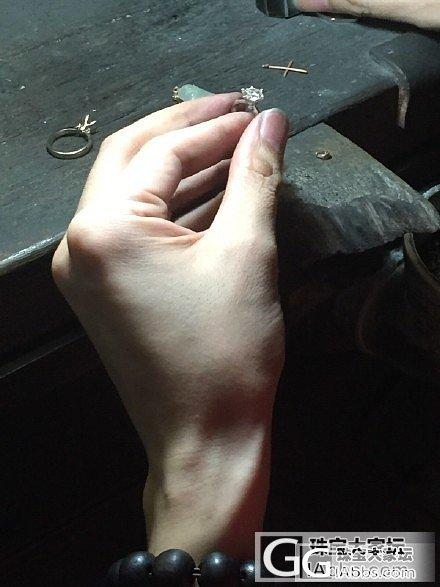 秀秀我滴求婚戒..1.35克拉,改款..._戒指钻石