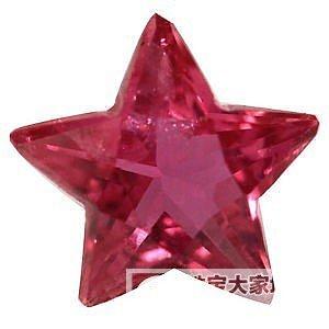 二个红宝石_刻面宝石红宝石