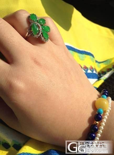 出太阳的时候就要晒_手镯珠串戒指金