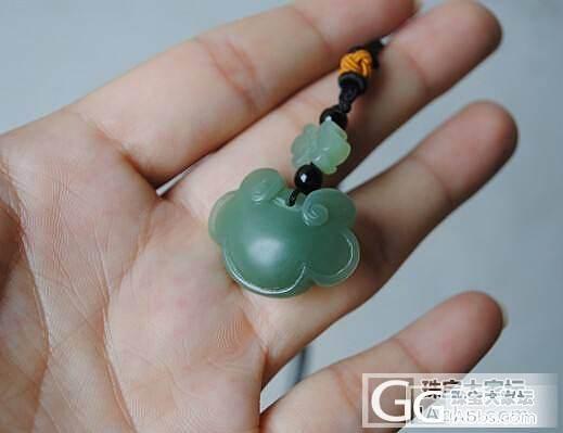 可爱萌宝宝锁。。。_传统玉石
