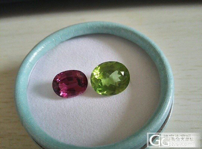 7.5克拉几乎全净浓郁绿色橄榄石_橄榄石刻面宝石